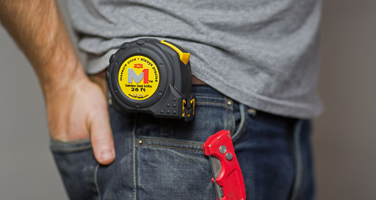 Slider Sturdy Rugged Quality Tape Measure